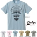 "【DEEDOPE】""VISION WITHOUT EXECUTION"" 半袖 プリント Tシャツ 綿100% カットソー"