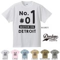 "【DEEDOPE】""NO.#01 MOTER OIL DETROIT"" 半袖 プリント Tシャツ 綿100% カットソー"