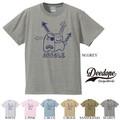 """【DEEDOPE】""""DOODLE"""" 半袖 プリント Tシャツ"""