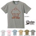 "【DEEDOPE】""CUP CAKE"" 半袖 プリント Tシャツ  カップケーキ"