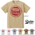 "【DEEDOPE】""SHARE SOMETHING THAT MAKES YOU LAUGH"" 半袖 プリント Tシャツ"