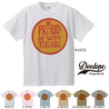"【DEEDOPE】""BE PROUD OF WHO YOU ARE"" 半袖 プリント Tシャツ 綿100% カットソー"