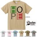 "【DEEDOPE】""HOPE"" 半袖 プリント Tシャツ 綿100% カットソー BIG LOGO ビックロゴ"