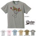 "【DEEDOPE】""BALLOON MONSTER"" 半袖 プリント Tシャツ 綿100% カットソー"