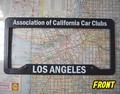 California Car Club ライセンスフレーム / LOS ANGELES