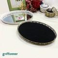 【griffonner】〜アンティークシリーズ〜リングトレイ-オーバル・ミラー-