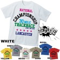 "【DEEDOPE】 ""CHAMPIONSHIP TRACKRACE"" 半袖 プリント Tシャツ 綿100% カットソー"