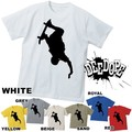 """【DEEDOPE】 """"SKATE"""" 半袖 プリント Tシャツ 綿100% カットソー"""