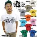 "【DEEDOPE】 ""BYCICLE II"" 半袖 プリント Tシャツ 綿100% カットソー 自転車"