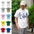 "【DEEDOPE 】""C.A.L.F."" 半袖 プリント Tシャツ 綿100% カットソー"
