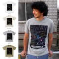 "【DEEDOPE】""SWAY NEXT REME"" 半袖 プリント Tシャツ 綿100% カットソー"