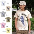 "【DEEDOPE】""NO DIGGITY"" 半袖 プリント Tシャツ 綿100% カットソー クジラ 鯨"