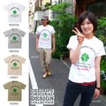"【DEEDOPE】""I WISH PEACE"" 半袖 プリント Tシャツ 綿100% カットソー"
