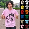 "【DEEDOPE】""Oi Oi Oi"" 半袖 プリント Tシャツ 綿100% カットソー パンク シャウト"
