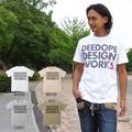 """【DEEDOPE】""""DEEDOPE DESGIN WORKS"""" 半袖 プリント Tシャツ ビック ロゴ LOGO"""