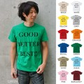 "【DEEDOPE】""GOOD BETTER BEST"" 半袖 プリント Tシャツ 綿100% カットソー"