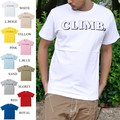 "【DEEDOPE】""CLIMB"" 半袖 プリント Tシャツ 綿100% カットソー"