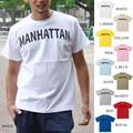 "【DEEDOPE 】""MANHATTAN"" 半袖 プリント Tシャツ 綿100% カットソー マンハッタン"