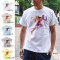 "【DEEDOPE 】""RUNNING MAN"" 半袖 プリント Tシャツ 綿100% ランニング マラソン"