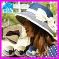 帽子 レディース UV EdgeCity(エッジシティー)折りたためるつば広帽子 マリナーハット