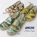 DICAS ディカス 迷彩 スリッポン メンズ 3色 総柄 スニーカー スペイン製