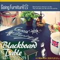 Going Furniture 黒板テーブル TB1-273/ブラウン