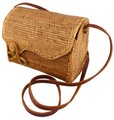 インドネシアの高級手編み、アタのカゴバッグ!浴衣や和装にも最適