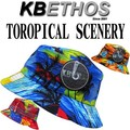 KB ETHOS Tropical Scenery BUCKET HAT  13379