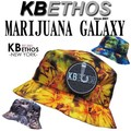 KB ETHOS Marijuana Galaxy BUCKET HAT  13379