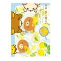 【A4・100円】クリアホルダー(フレッシュレモン・パンケーキ)<リラックマ>