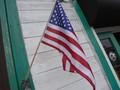 アメリカンフラッグ 木製ポール付き10pセット / アメリカン フラッグ