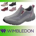 【WIMBLEDON】定番スリッポン レディススニーカー 紐タイプ W/B L031