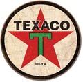ブリキ看板 Texaco Button #58301