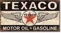 ブリキ看板 Texaco Winged Logo #58408