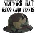 NEWYORK HAT  #3099 CAMO TENNIS 13506
