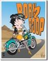 ブリキ看板 Betty Boop Born 2 Boop #58326