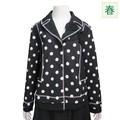*30%OFF*◆春夏物◆『ミセス』花モチーフドットジャケット(M15065)
