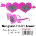 【おもしろ 雑貨 サングラス】Sunglass ハートアロー パーティ イベント 仮装 コスプレ