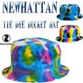 NEWHATTAN   NEWHATTAN TIE DYE BUCKET HAT  13510