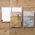 【ノートカバーA5】<オロビアンコ>使い慣れたノートをクラスアップ◆アウターポケット付き