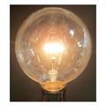 【白熱灯】《キラキラした光を演出/95mm径・70mm径から選べる》ボール電球 クリア 40W形