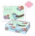 MOLLY&REX サンキューグリーティングカード <鳥×フラワー>