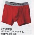 【GUNZE・BODYWILD】BasicStyle綿混ボクサーブリーフ1000円(2015SS)