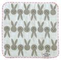 【ひだまり暮らしの和タオル】サイズ展開ウサギ<タオルハンカチ ゲストタオル フェイスタオル>