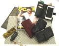 【値下げ】 ★Safari6月号掲載★ イタリアンレザー使用 スマホ収納付き財布 タリアート