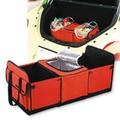 車用収納ボックス mini-cargo(クーラーボックス付) レッド