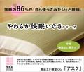 【日本製】【直送可】医者が使ってみたい「い草枕 アスク」約50×30cm ※指定売価