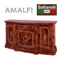 ★決算特価★【再入荷】イタリア 鏡面家具|AMALFI グランデ サイドボード 大理石 WALNUT