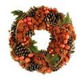 <<クリスマスリース>>★■X'mas/  Pumpkin & Vine Wreath