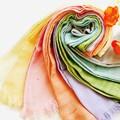 【泉州こだわりタオル】8色展開ライトウィンドプチタオルマフラー<抗菌UVカット ストール>